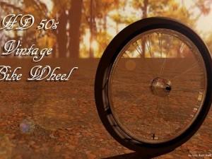 HD  1950 American  Bike Wheel
