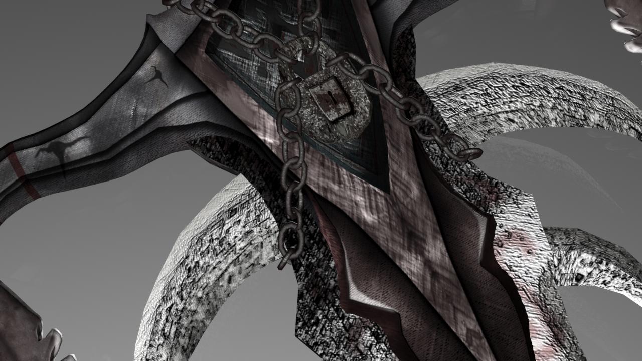 Sword of the Death Lord 3D Model in Melee 3DExport