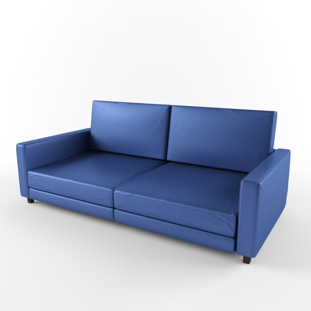 Blue leather sofa the best 28 images of blue leather for Blue leather sofa
