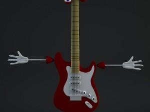 Guitar Guy Rigged