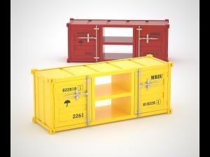 Sea Container HQ TV cabinet