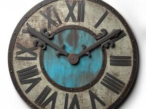 Wall clock Loft Style t80
