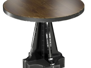 French Column Table in the industrial style