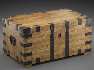 CHEST-COFFEE TABLE