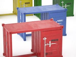 Sea Container desk 4 colors