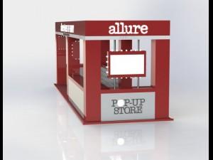 Exhibition stand Allure in GUM