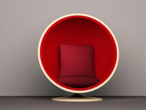 Egg Chair furniture prop