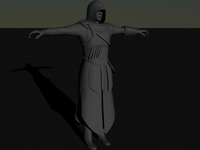 Assassins creed Altair 3D Model