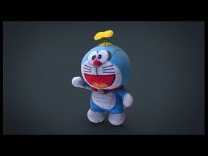 Doraemon cat doll