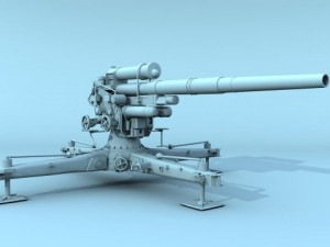 German FLAK 88 mm
