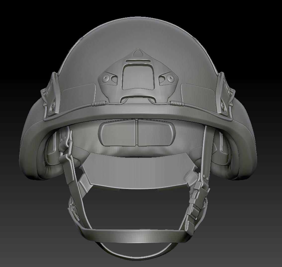 Militaryhelmet 3D Model in Accessories 3DExport