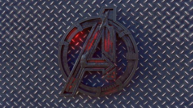 avengers logo 3d model