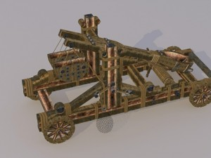 Catapult-- medieval weapons