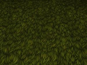 Ground grass tile
