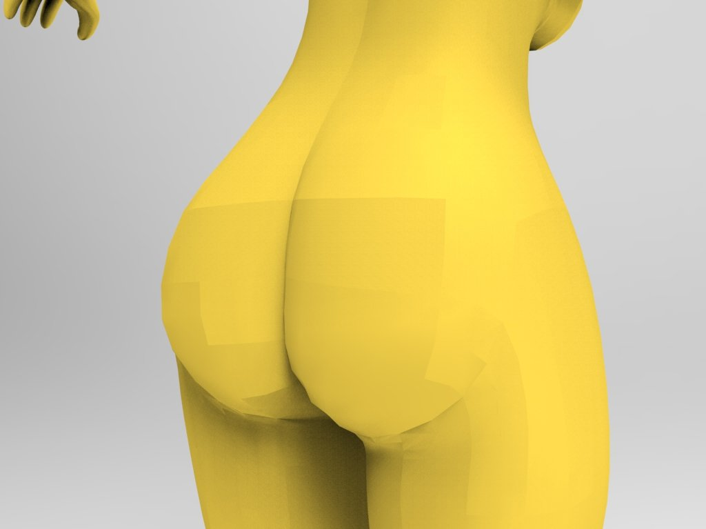 Marge simpsons nude