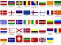 European flags textures