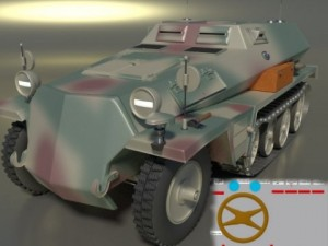 Germany armor tranparter