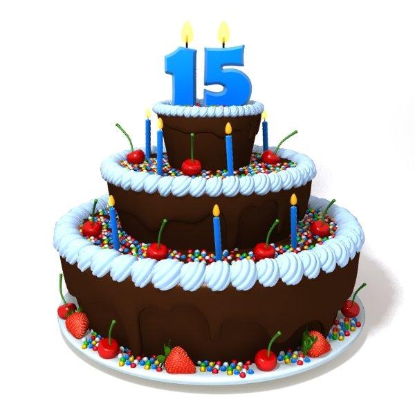 Birthday Cake 3d Model In Miscellaneous 3dexport