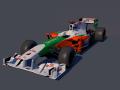 F1 Force India  C4D  obj  lwo  mtj