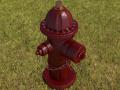 Hidrante high poly
