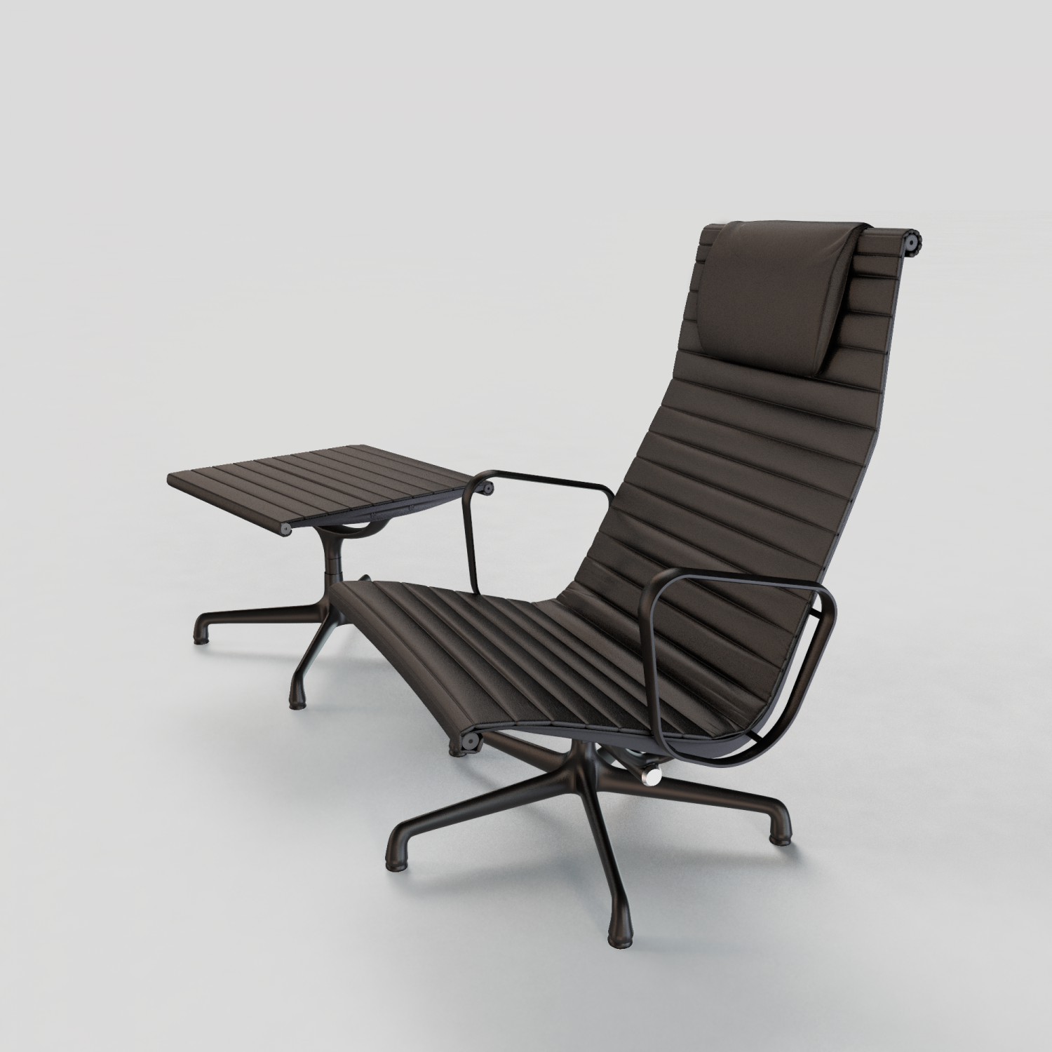 Eames Aluminum Group Lounge Chair 3d Model In Chair 3dexport