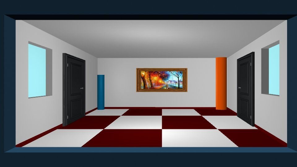 Ames Room Optical Illusion 3D Model in Other 3DExport