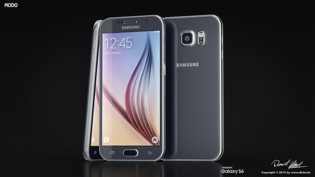 Samsung Galaxy S6 FBX only 3D Model