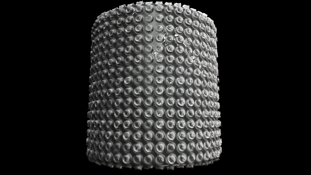 Bubble wrap PBR Tileable Texture 3D Model in 3D Textures 3DExport