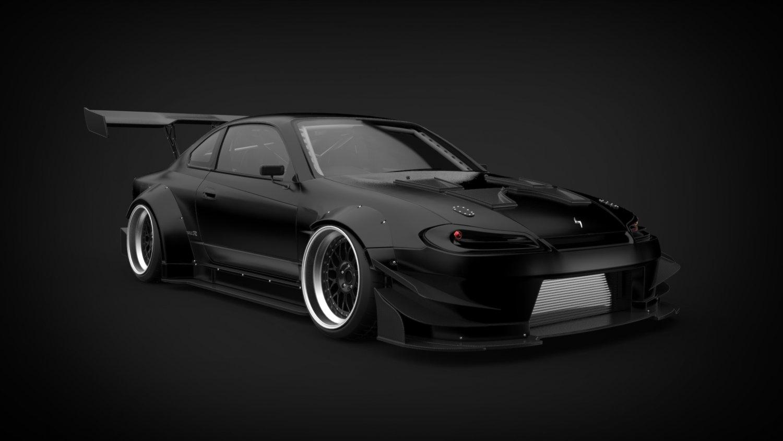 Silvia 3d Models Download Available Formats C4d Max Nissan S15 Mona Lisa Brill Steel Carbon Model
