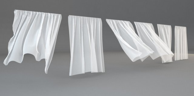 Model curtains curtain menzilperdenet for White curtains wind