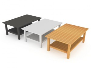 IKEA HEMNES Coffee Table in the three colors