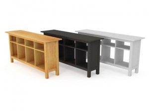 IKEA HEMNES Console Table in the three colors