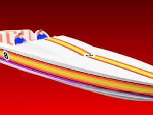 Offshore racing powerboat