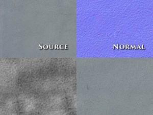 Seamless plain concrete textures 5pack NormalBump