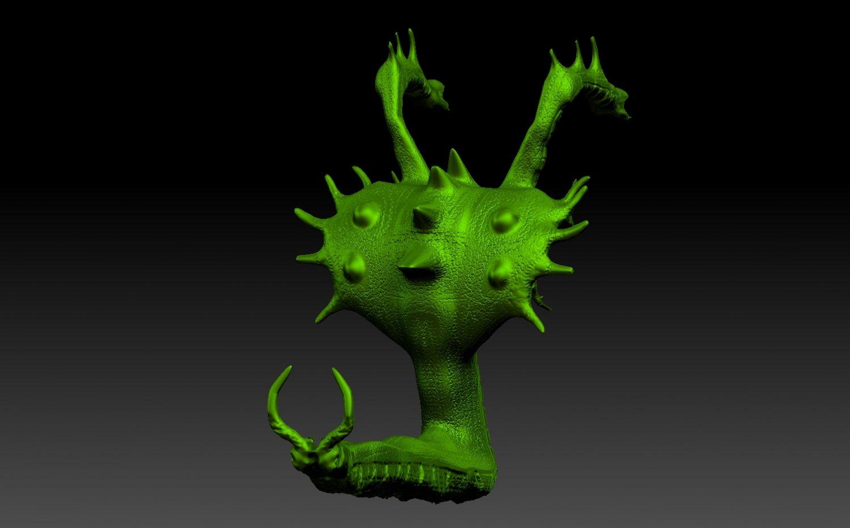 dota 2 venomancer 3d model in monster3dexport