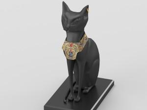 Egyptian goddess Bastet figurine