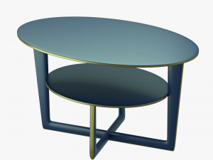 Modern table with two levels