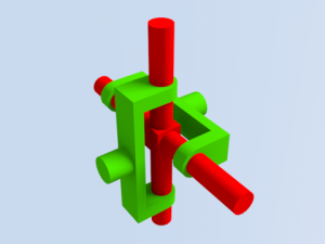 Simple mecanizm