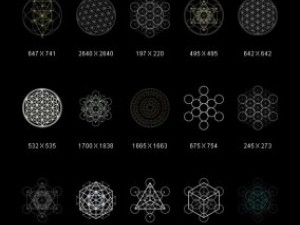 Graphics Occult Sacred Geometry Metatron