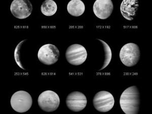 Graphics Universe Planets