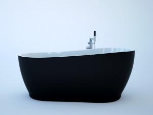 Black Bathtube