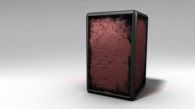 Download free Grunge Box 3D Model