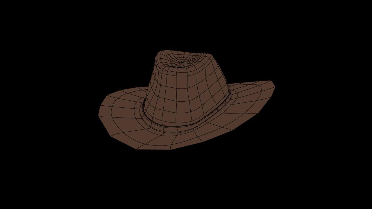 Western Hat Free 3D Model in Clothing 3DExport 8e0d50a45107