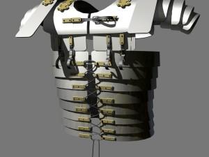 Roman Segmentata Lorica Chest Armor