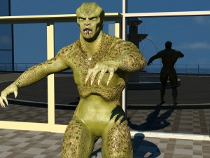 Humanoid Monster