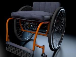 Sport wheel chair