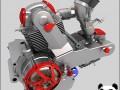 Ducati motorcycle engine