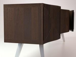 Bedside table TV