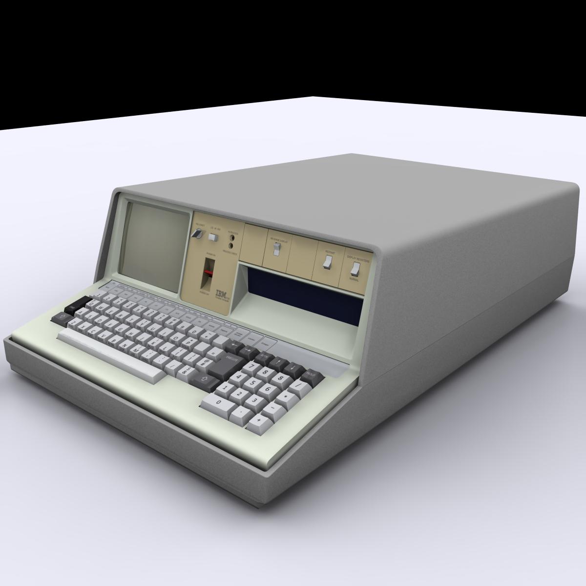 IBM 5100 Portable Computer 3D Model in Computer 3DExport