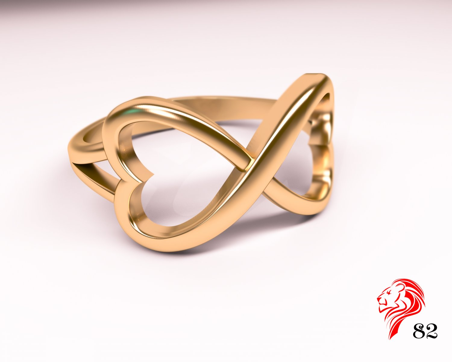 infinity sterling breakell silver jh infiniti ring